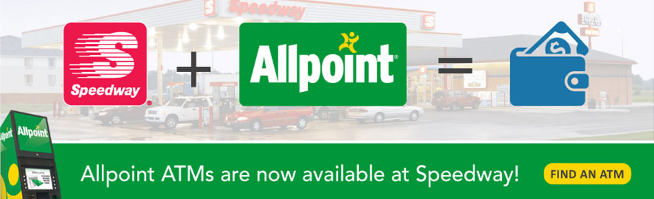 Allpoint ATM Available At Speedway