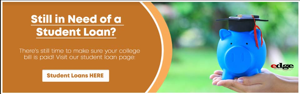 Still in need of a student loan? There's still time to make sure your college bill is paid.  Student loans here